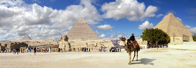 Gizeh, les pyramides