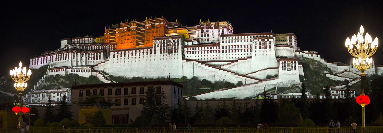Lhassa, palais du Potala