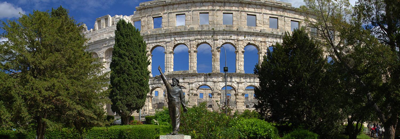 Croatie, Pula (amphithéâtre)