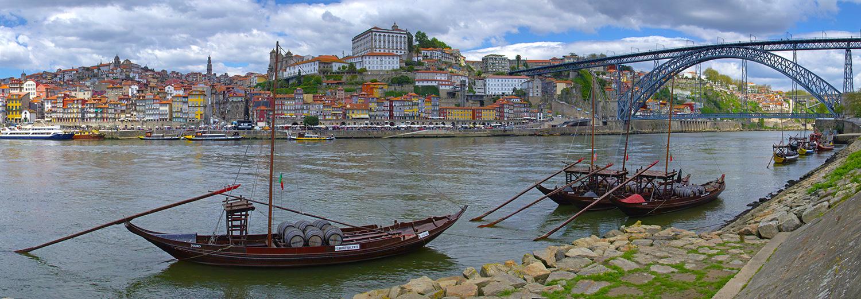Porto, vu de Av. Diogo Leite