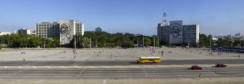 La Havane, place de la révolution