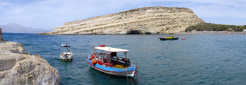 Crète, Matala