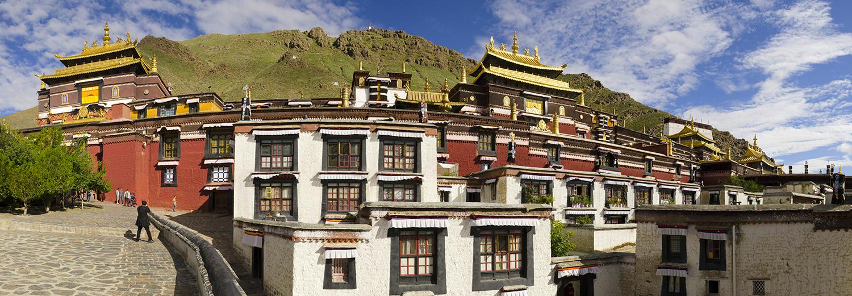 Shigatse, monastère Tashlum