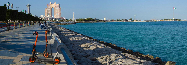 Abou Dhabi - Vers le Marina Mall