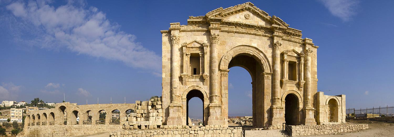 Jerash, site archéologique de Gerasa