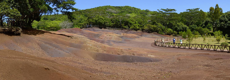 Chamarel, terre aux 7 couleurs