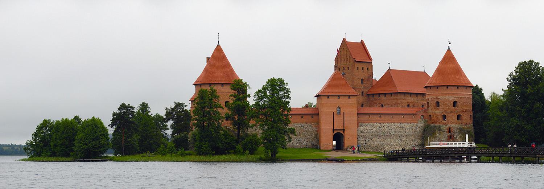 Lituanie, Trakai (le château)