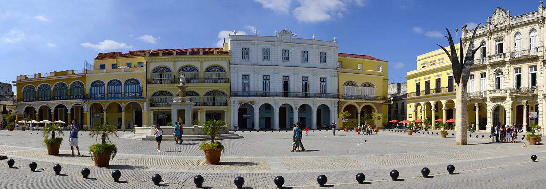 La Havane, la vieille place