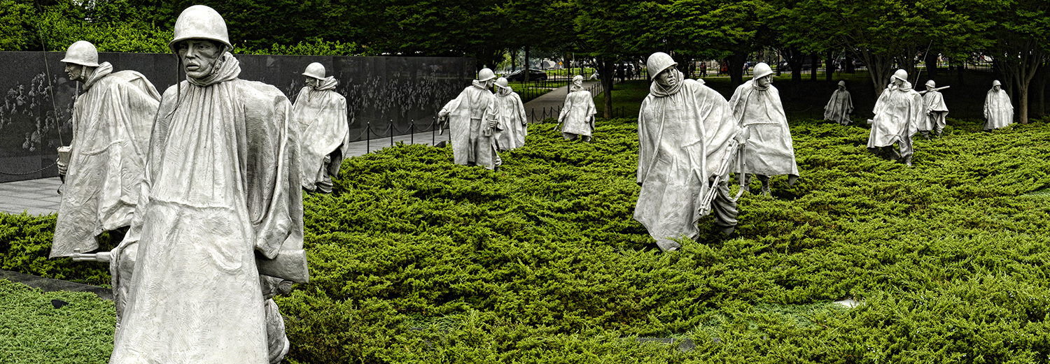 Washington, Korean War Memorial