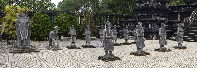 Hue, tombeau de Khai Dinh