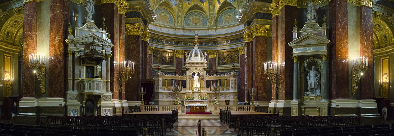 Budapest, basilique St Etienne