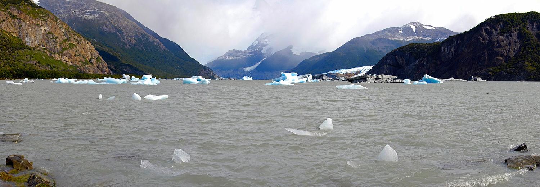 Glaciers Onelli, Onelli Colgante & Agassiz
