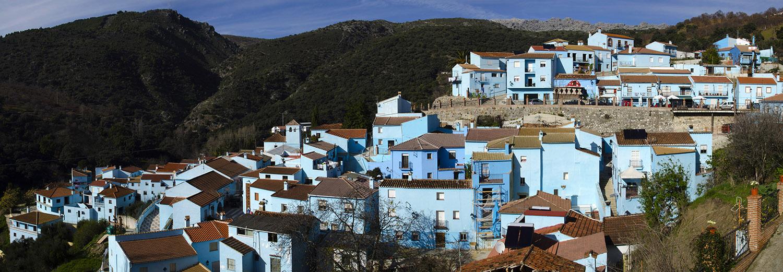 Juzcar, village des Schtroumphs