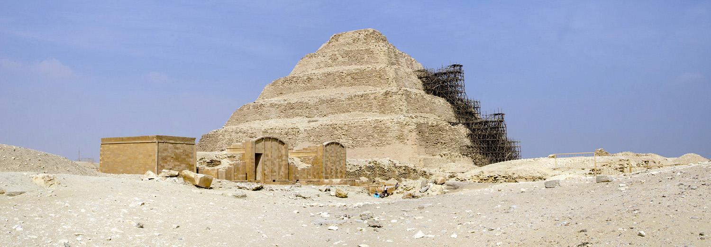 Saqqarah, la nécropole