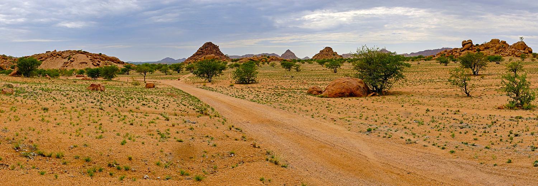 Twyfelfontein, les environs