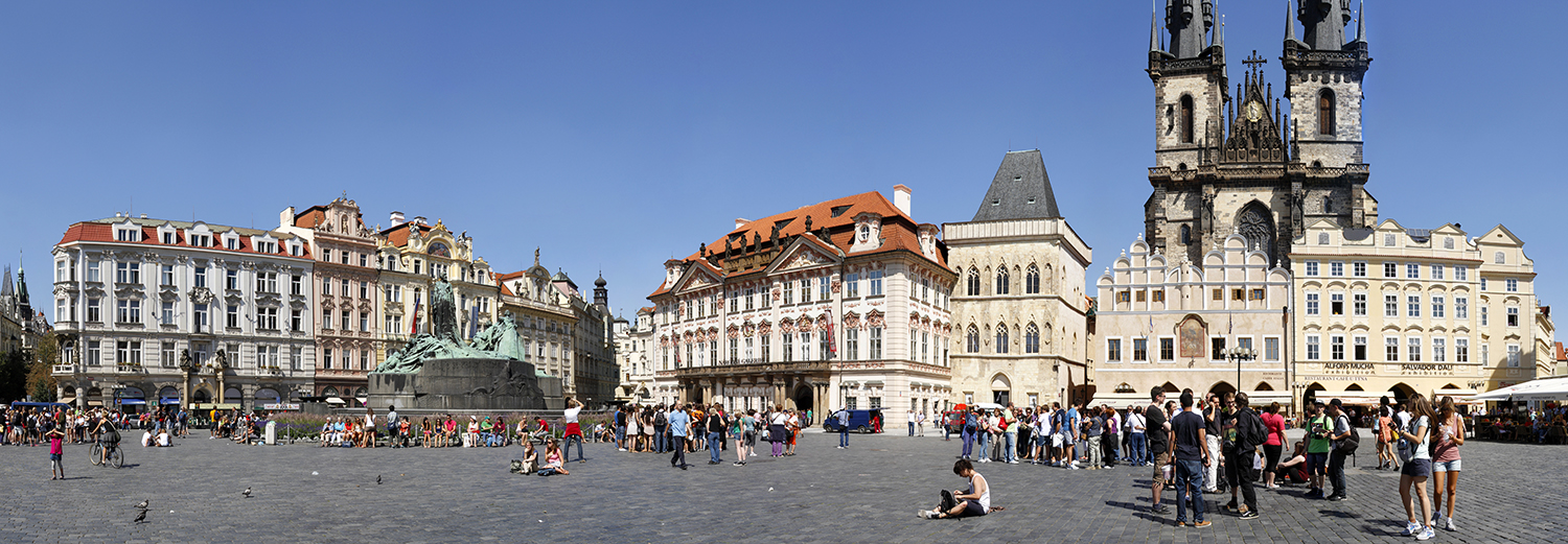 Prague, place de la vieille ville
