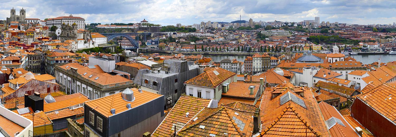 Porto, vu du mirador da Vitoria