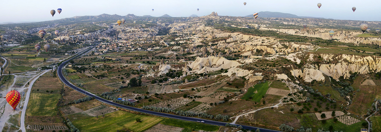 Cappadoce, en montgolfière