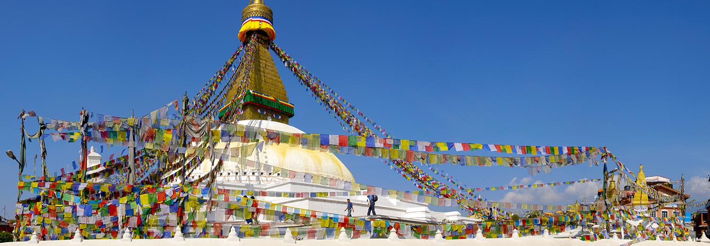 Bodhnath, le stupa