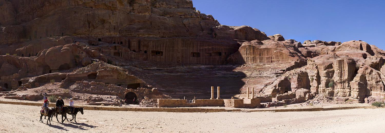 Petra, théâtre