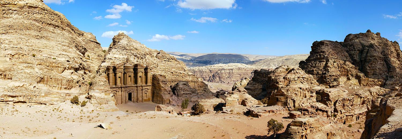 Petra, monastère Al Deir