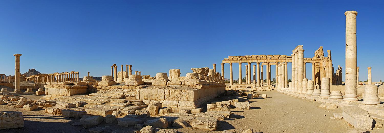 Palmyre, la grande colonnade