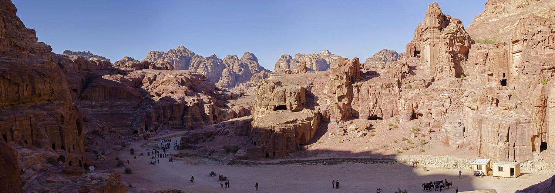 Petra, vers le Haut-lieu du sacrifice