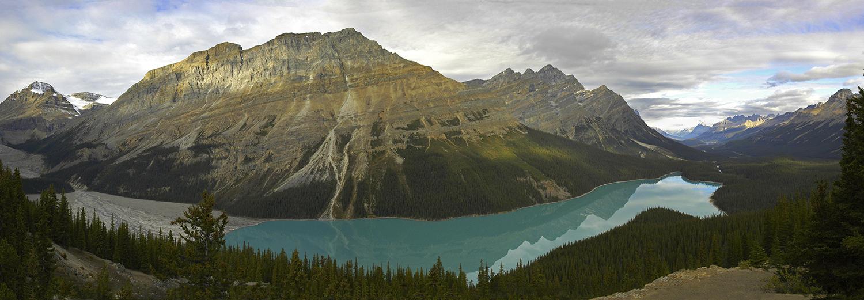 Alberta, lac Peyto