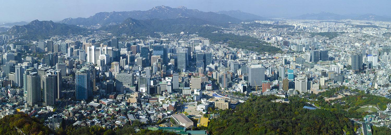 Séoul, vu de Namsan Tower