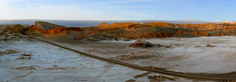 Désert d'Atacama, vallée de la lune