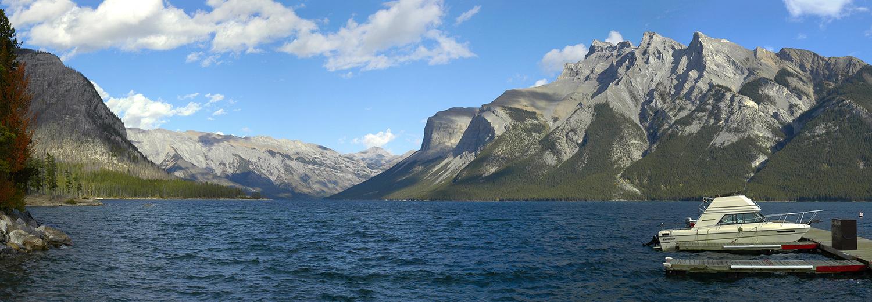 Alberta, Banff (lac Minnewanka)