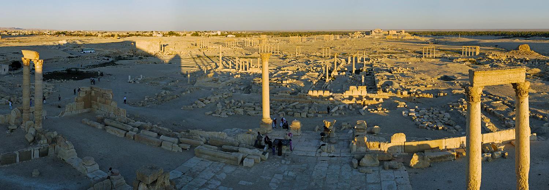 Palmyre, vue d'ensemble