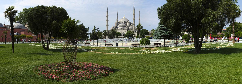 Istanbul, mosquée bleue