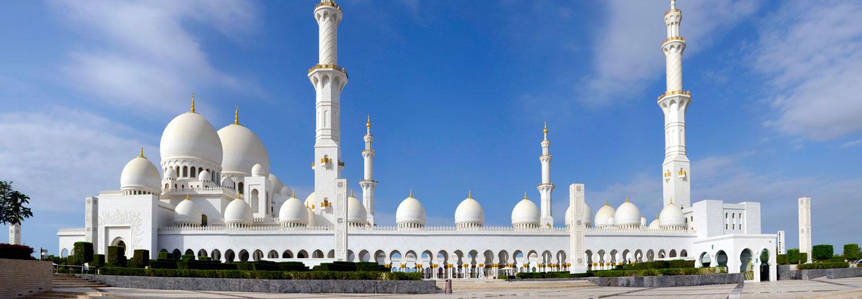 Abou Dhabi - Mosquée Sheikh Zayed