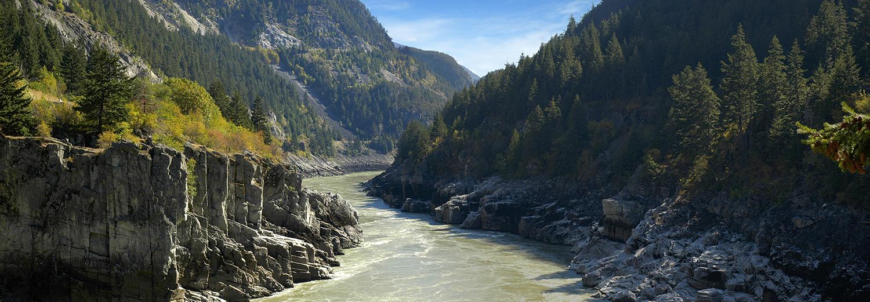 Gorges du Fraser, Hell's Gate