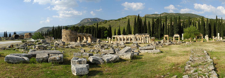 Pamukkale, nécropole de Hiérapolis