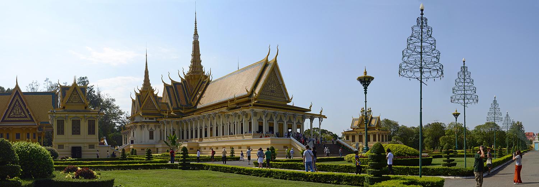 Phnom Penh, Palais Royal