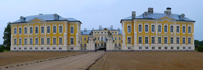 Lettonie, Bauska (palais de Rundale)