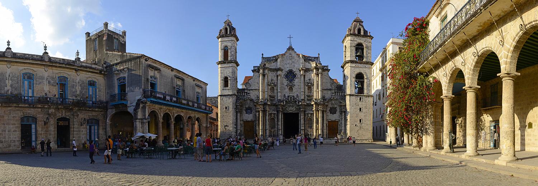 La Havane, place de la cahédrale