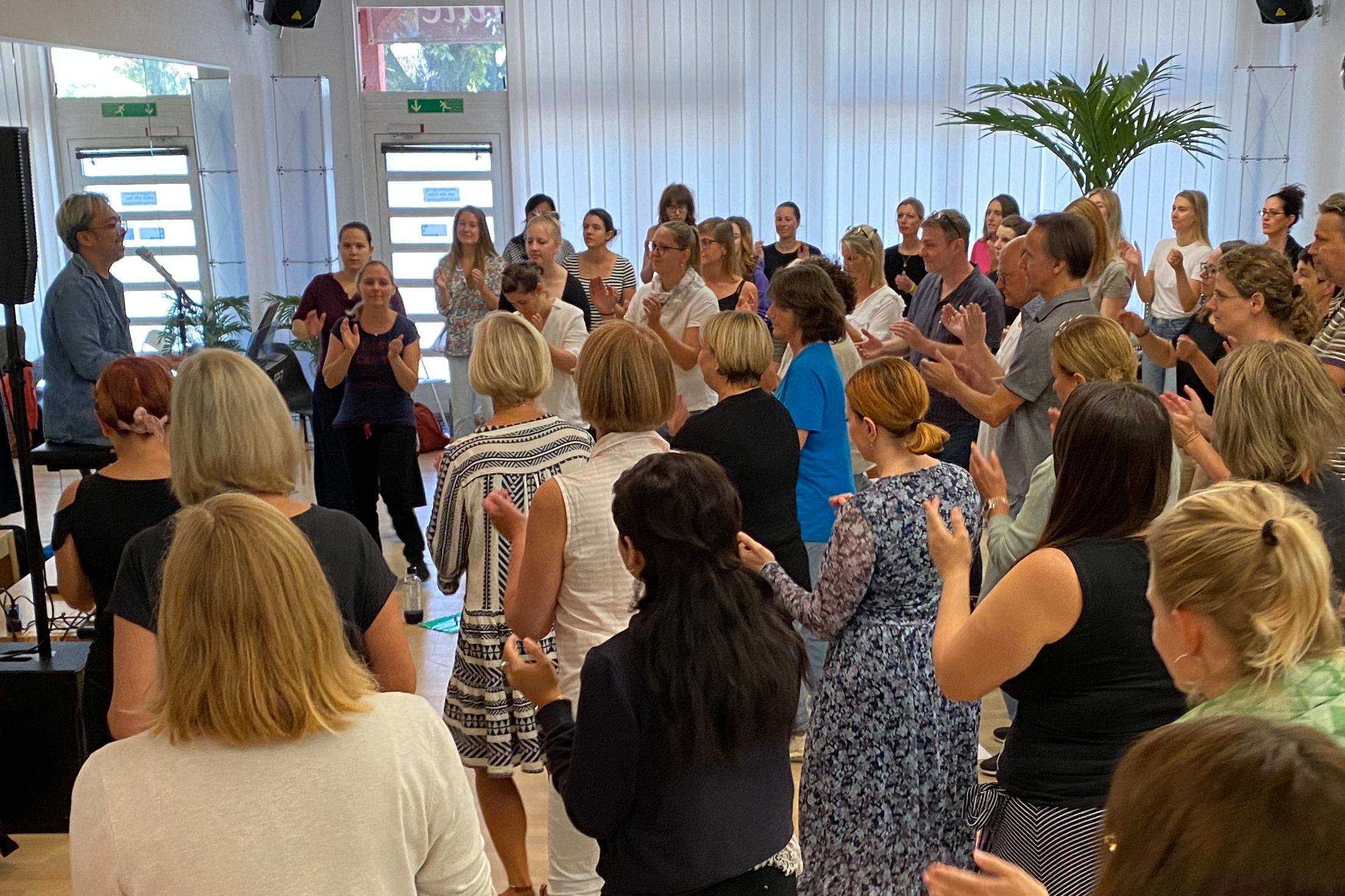 Singen im grossen Chor, Zürich Singers Night