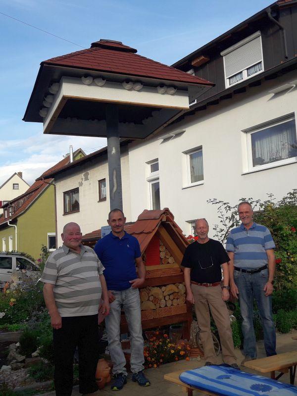 Heute wird das Schwalbenhaus eingeweiht (Foto: Rolf Schatz)