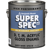Benjamin Moore Super Spec HP DTM paint
