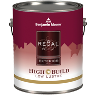REGAL® Select Exterior Paint- High Build