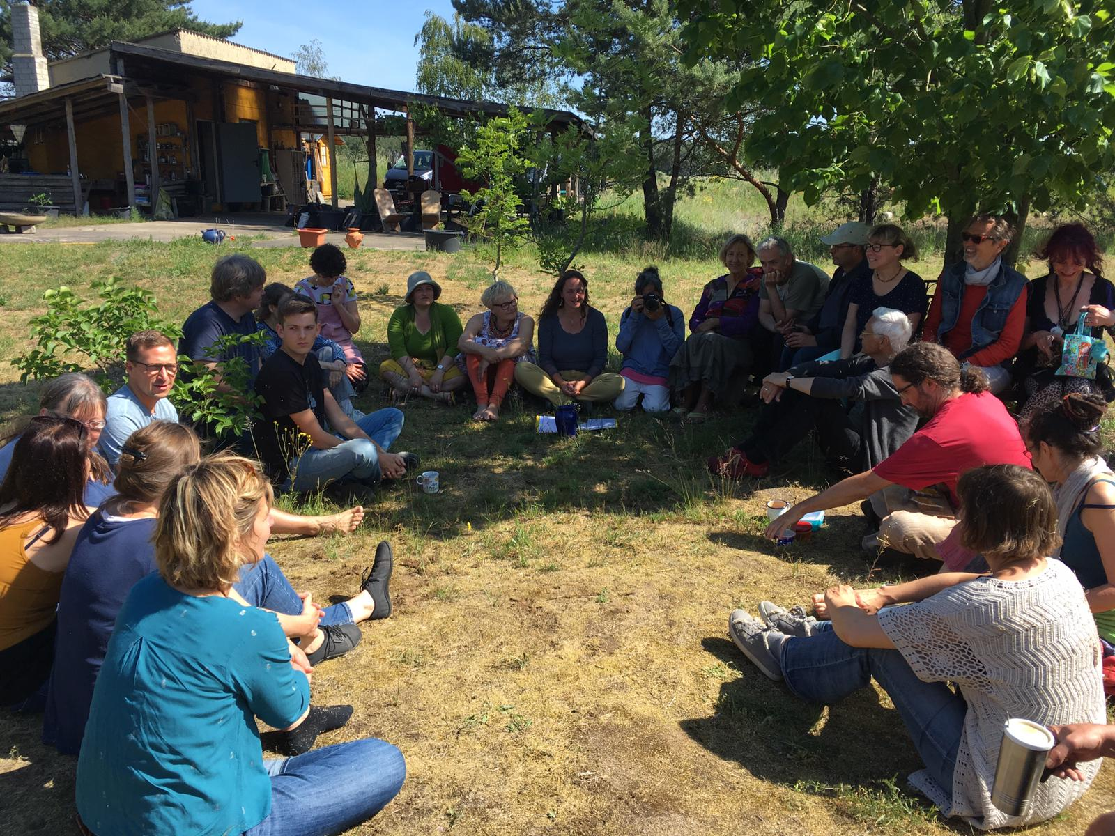 Reisesegen und gemeinsame Startrunde mit den Karawaneros 2019