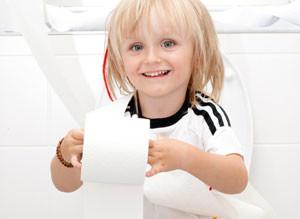 Verstopfung bei Kindern ist in der Regel eine harmlose Verdauungsstörung