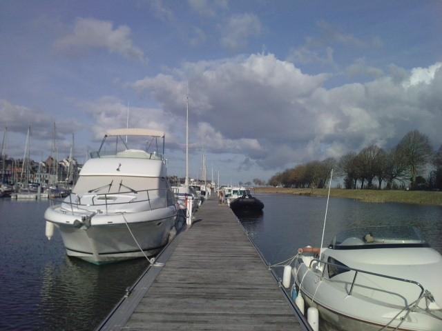 Le port de Saint Valéry sur Somme