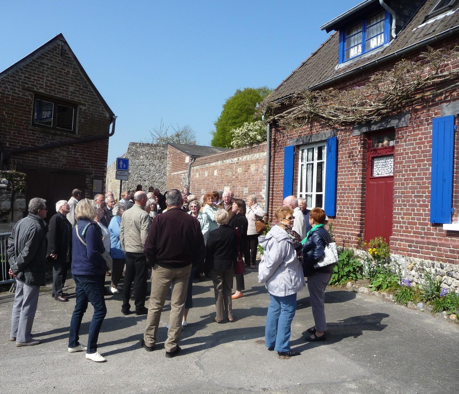 Visite de Saint Valery sur Somme