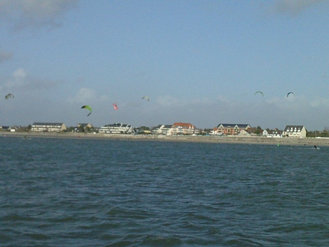 Kite surf au Crotoy