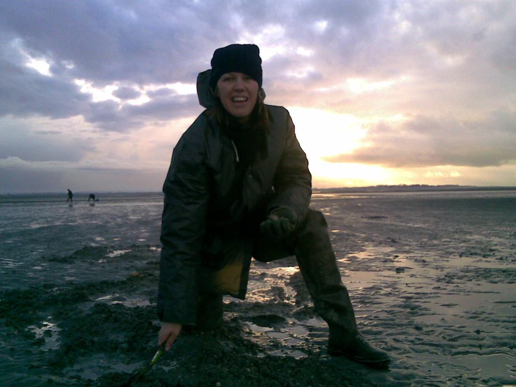 Pêche à la coque au Crotoy