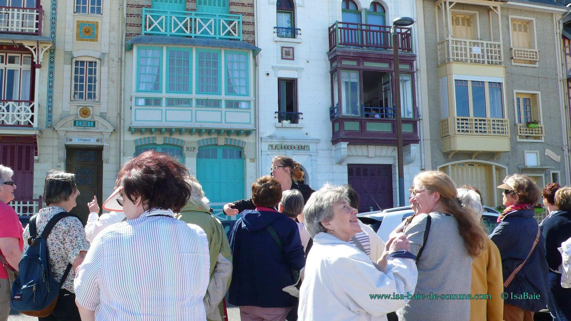 Visite guidée de Mers les Bains